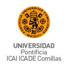 Logo Universidad Pontificia ICAI ICADE Comillas