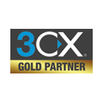Logo 3CX Gold Partner