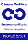Logo Calidad ISO 27001 Cámara