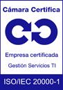 Logo Calidad ISO 20001 Cámara
